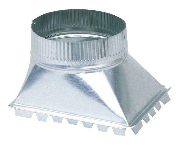 Prise latérale Imperial, acier galvanisé, 5 po Image de l'article