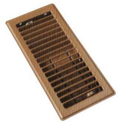 Floor Register, Polished Brass Product image