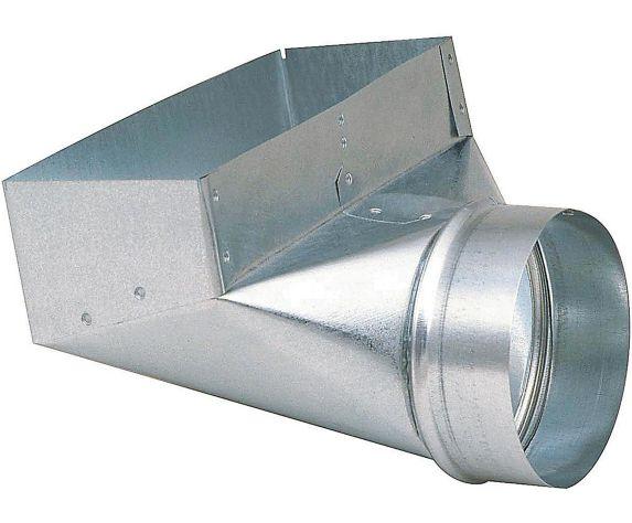 Sortie angulaire Imperial, acier galvanisé, 5 x 3 x 10 po Image de l'article