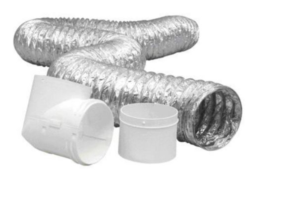 Duct Connector Kit, 4-inch x 8-ft Product image