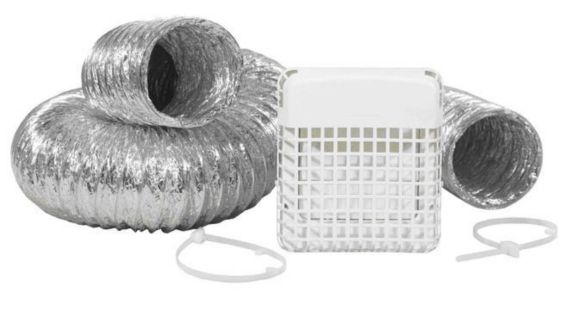 ProGard Dryer Vent Kit, 4-inch x 8-ft. Product image
