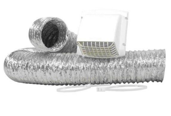 ProMax Dryer Vent Kit, 4-inch x 8-ft. Product image