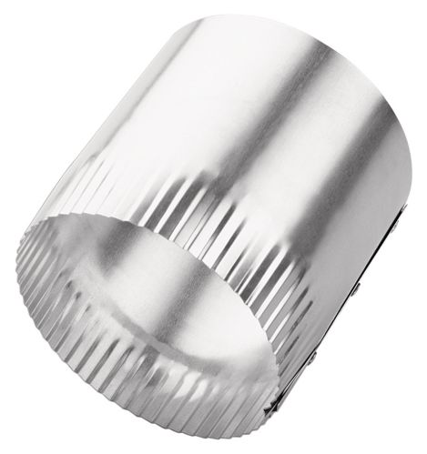 Metal Duct to Duct Connector, 4-in.