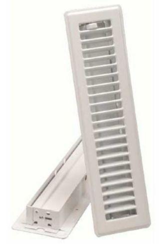 Registre de plancher, blanc, 2 1/4 x 12 po Image de l'article