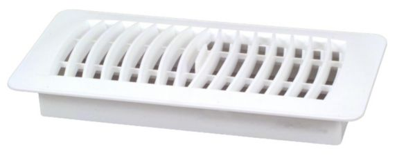 Plastic Register, White, 4 x 10-in Product image