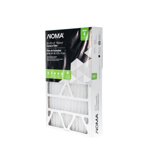 Filtre à fournaise NOMA MERV 8, 16 x 25 x 4 po