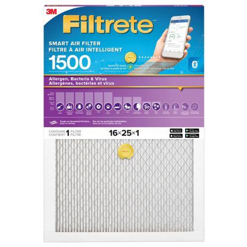 Filtre à air intelligent 3M Filtrete, Allergènes, bactéries et virus, MPR 1500 Image de l'article