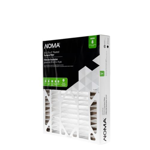 NOMA MERV 8 Furnace Filter, 20x25x4-in Product image