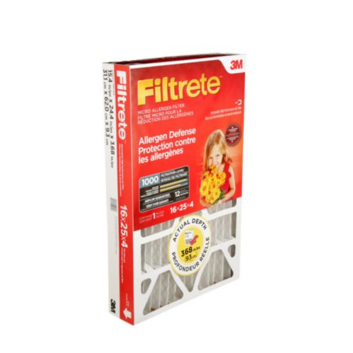 3M™ Filtrete™ Allergen Defense Micro Allergen Deep Pleat Filter, MPR 1000 Product image