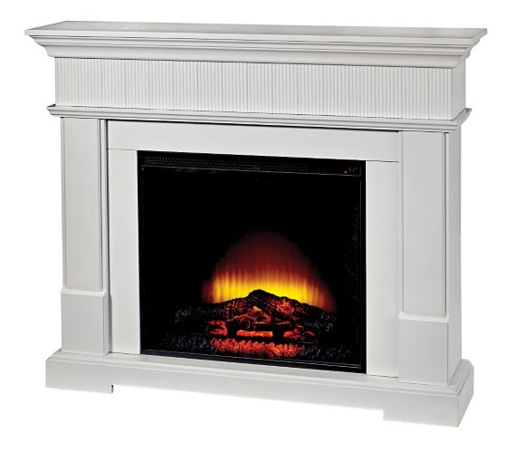 CANVASHarlow Electric Fireplace, White Product image
