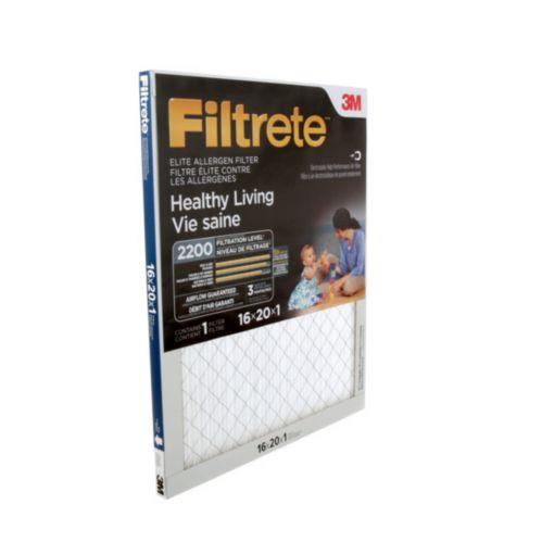 3M™ Filtrete™ Healthy Living Elite Allergen Filter, MPR 2200 Product image