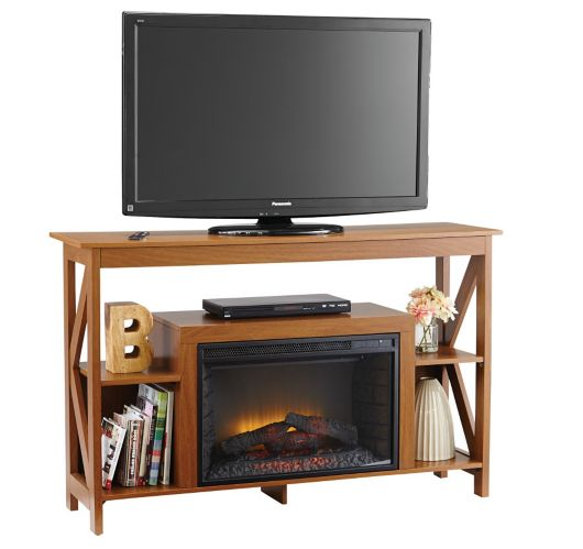 Avery Electric Media Fireplace