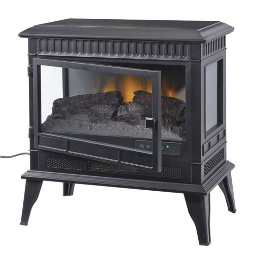 For Living 3 Side Free Standing Electric Fireplace 25 In Canadian Tire