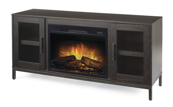 Foyer électrique avec console multimédia CANVAS Canmore, 54 po Image de l'article