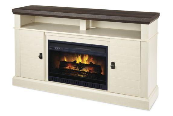 Foyer électrique avec console multimédia CANVAS Ashcroft, 60 po Image de l'article