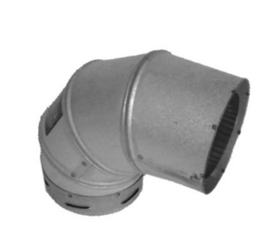 Pellet Pipe Elbow, 3x90-in Product image