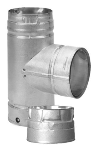 Endurance Pellet Vent Tee, 4-in Product image