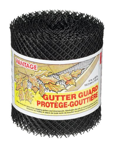 Vantage Gutter Guard, 6-in x 25-ft Product image
