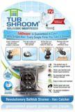 TubShroom Bathtub Hair Catcher, Black | Tub Shroomnull