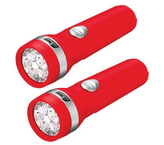 Lampes de poche DEL Likewise, 2 piles D, paq. 2