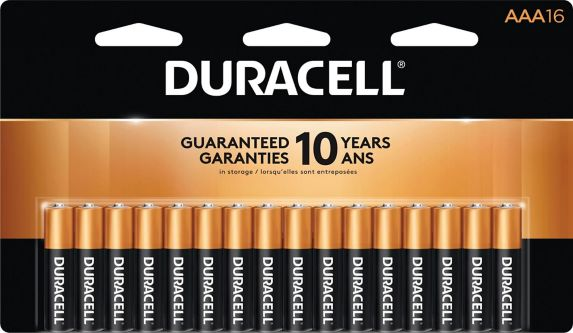 Duracell Copper Top Alkaline AAA Batteries, 16-pk Product image