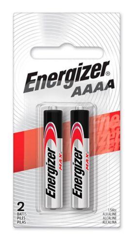 Piles alcalines AAAA Energizer Max, paq. 2 Image de l'article