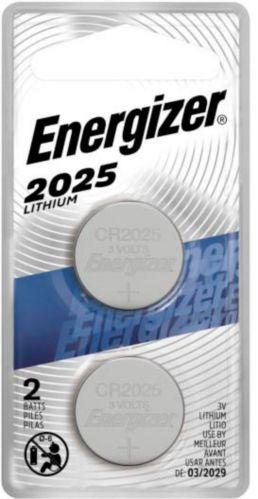 Piles bouton au lithium de 3 V Energizer, 2025, paq. 2