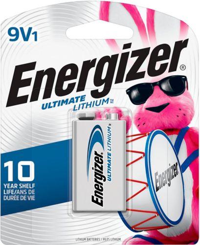 Piles 9 V Energizer Advanced Lithium