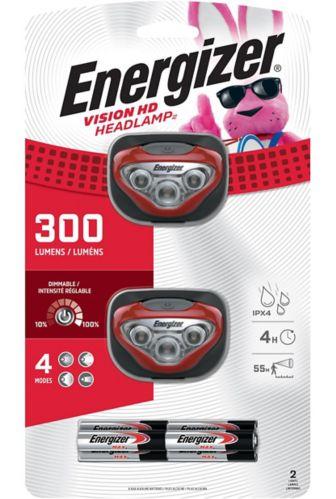 EnergizerVision HD LED 300 Lumen Headlight, 2-pk Product image