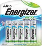 Energizer Eco Advanced Alkaline AA Batteries, 10-pack | Energizernull