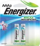 Energizer Eco Advanced Alkaline AAA Batteries, 2-pack | Energizernull