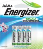 Energizer Eco Advanced Alkaline AAA Batteries, 4-pack | Energizernull