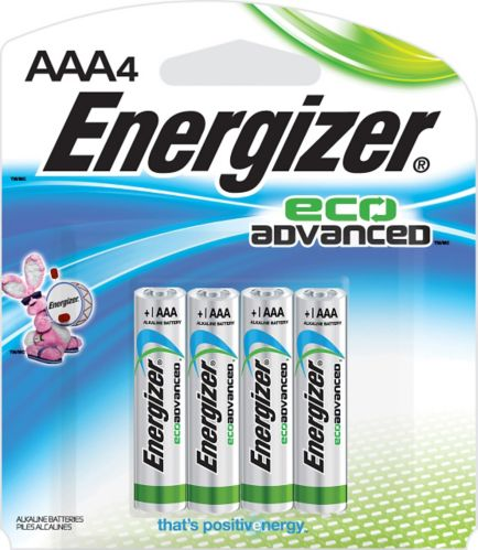 Energizer Eco Advanced Alkaline AAA Batteries, 4-pack Product image