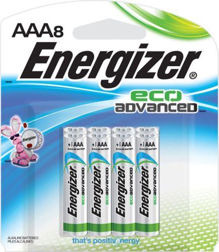 Piles alcalines AAA Energizer EcoAdvanced, paq.8