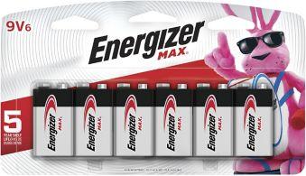 Energizer Max Alkaline 9V Batteries | Canadian Tire