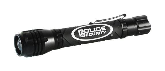 Lampe de poche Police Security Elite 2AA Zephyr, noir Image de l'article