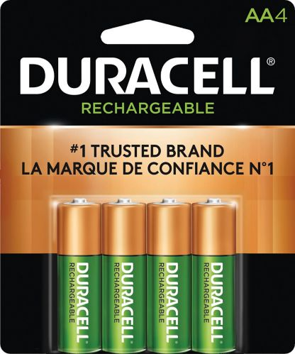 Duracell Pre-charged Rechargeable AA Batteries, 4-pk Product image