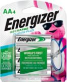 Piles rechargeables NiMh Energizer AA, paq. 4 | Energizernull