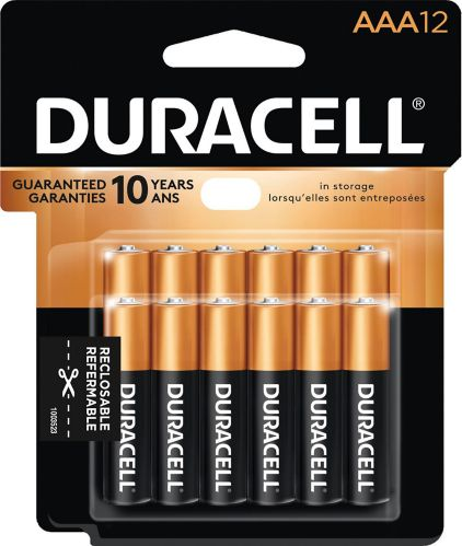Duracell Copper Top Alkaline AAA Batteries, 12-pk Product image