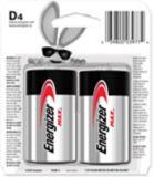 Energizer Max Alkaline D Batteries, 4-pk | Energizernull