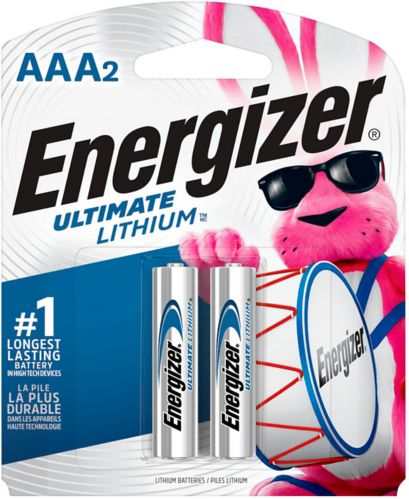 Energizer Lithium AAA Batteries, 2-pk Product image