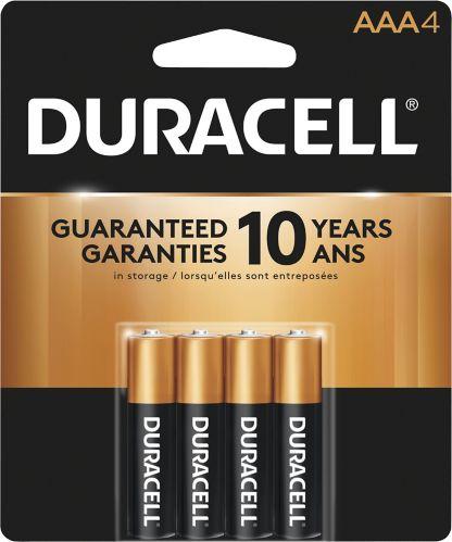 Piles alcalines AAA Duracell Copper Top, paq. 4 Image de l'article