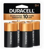 Piles alcalines D Duracell Copper Top, paq. 4 | Duracellnull