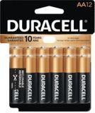 Piles alcalines AA Duracell Copper Top, paq. 12 | Duracellnull