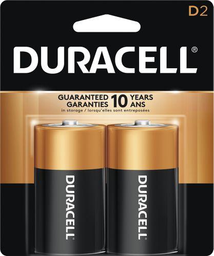 DuracellCopper TopAlkaline D Battery, 2-pk Product image