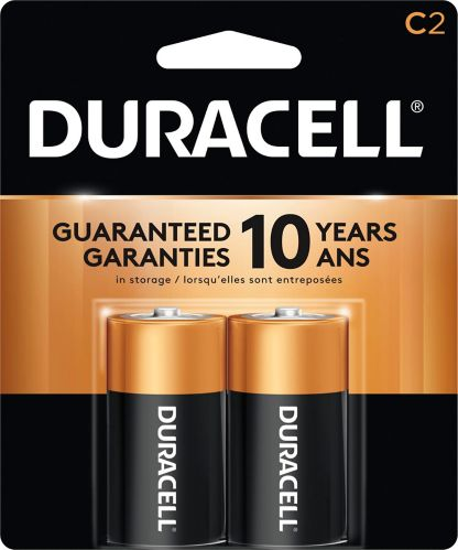 Duracell Copper Top Alkaline C Battery, 2-pk Product image