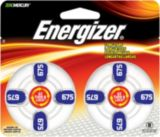 Energizer Hearing Aid Batteries, 675, 8-pk | Energizernull