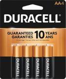 Duracell Copper Top Alkaline AA Batteries, 4-pk | Duracellnull