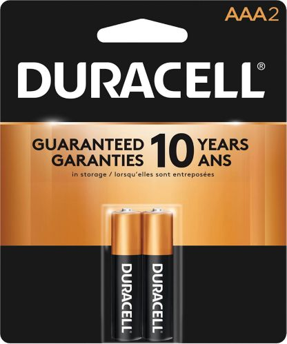 Piles alcalines AAA Duracell Copper Top, paq. 2