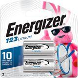 Energizer 123 Lithium Photo 3V Batteries, 2-pk | Energizernull